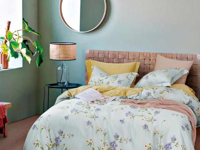 Комплект постельного белья 1,5-спальный, тенсел 1627-4S