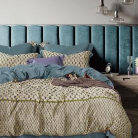 Комплект постельного белья 1,5-спальный, тенсел-люкс 1524-4S
