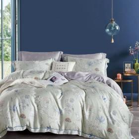 Комплект постельного белья 1,5-спальный, тенсел 1526-4S