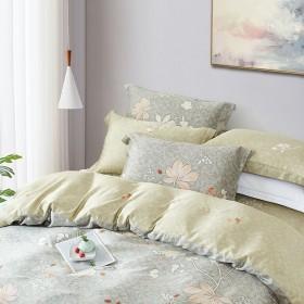 Комплект постельного белья 1,5-спальный, тенсел 1529-4S