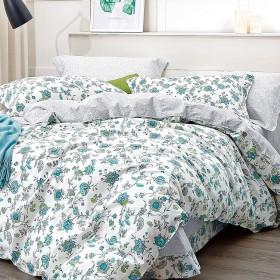 Комплект постельного белья Семейный, печатный сатин 1002-7