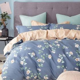 Комплект постельного белья Семейный, печатный сатин 1015-7