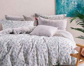 Комплект постельного белья Семейный, печатный сатин 1024-7