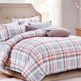 Комплект постельного белья Евро, печатный сатин 1028-6