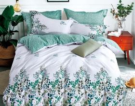 Комплект постельного белья Семейный, печатный сатин 1033-7