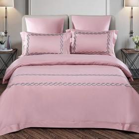 Комплект постельного белья Евро, египетский хлопок 1039-4