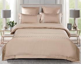 Комплект постельного белья Евро, египетский хлопок 1041-4