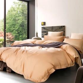 Комплект постельного белья Евро, тенсел однотонный 1044-4