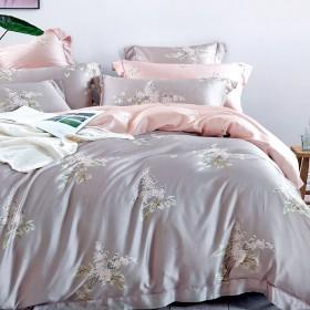 Комплект постельного белья Евро, тенсел 1048-6