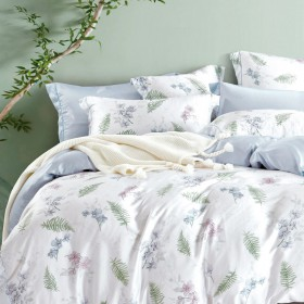 Комплект постельного белья 1,5-спальный, тенсел 1052-4S