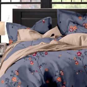 Комплект постельного белья Евро, египетский хлопок 1053-6