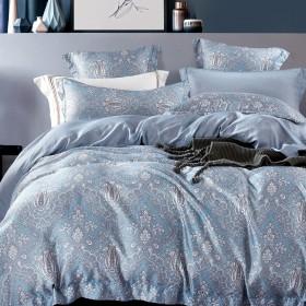 Комплект постельного белья Евро, тенсел 1054-6