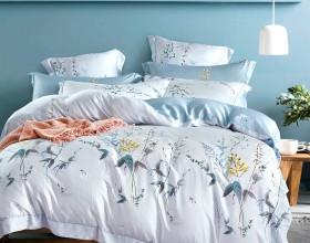 Комплект постельного белья Евро, тенсел 1057-6
