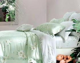 Комплект постельного белья 1,5-спальный, тенсел 1058-4S