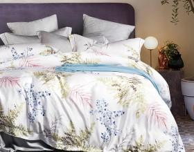 Комплект постельного белья Евро, тенсел 1064-6