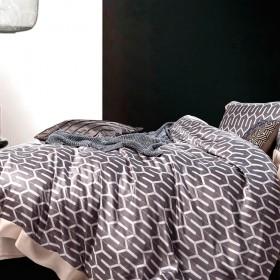 Комплект постельного белья Евро, тенсел 1066-6