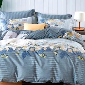 Комплект постельного белья Евро, печатный сатин 1084-6