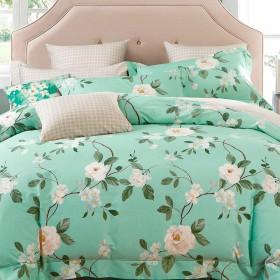 Комплект постельного белья Семейный, печатный сатин 1108-7