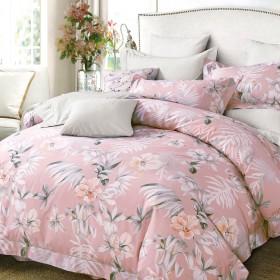 Комплект постельного белья Семейный, печатный сатин 1111-7