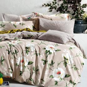 Комплект постельного белья Семейный, печатный сатин 1137-7