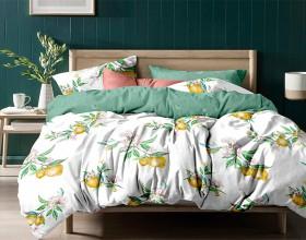 Комплект постельного белья 1,5-спальный, печатный сатин 1151-4S
