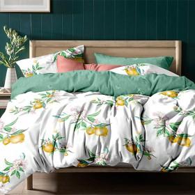Комплект постельного белья Семейный, печатный сатин 1151-7