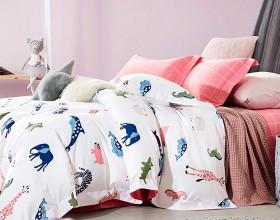 Комплект постельного белья 1,5-спальный, фланель 1181-4S