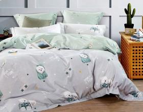Комплект постельного белья 1,5-спальный, фланель 1188-4S