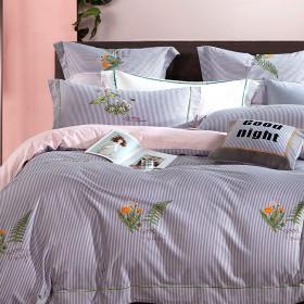 Комплект постельного белья Евро, фланель 1189-6