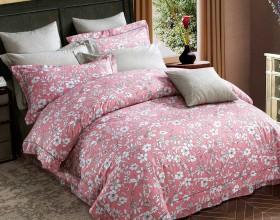Комплект постельного белья 1,5-спальный, печатный сатин 1204-4S