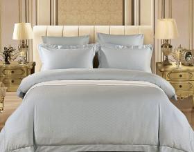 Комплект постельного белья Евро, жаккард 1243-6