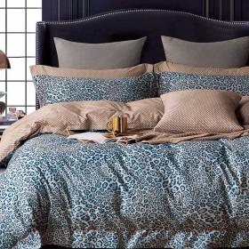 Комплект постельного белья Семейный, печатный сатин 1273-7