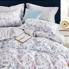 Комплект постельного белья 1,5-спальный, печатный сатин 1282-4S
