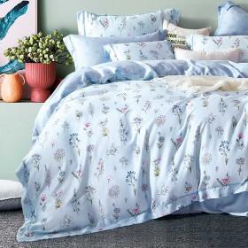Комплект постельного белья 1,5-спальный, тенсел 1294-4S