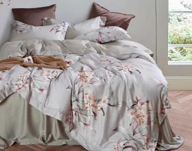 Комплект постельного белья Евро, тенсел 1307-6