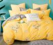 Комплект постельного белья 1,5-спальный, печатный сатин 1324-4S