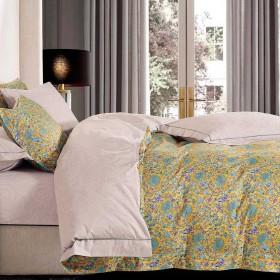 Комплект постельного белья Семейный, печатный сатин 1364-7