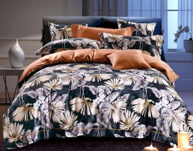 Комплект постельного белья 1,5-спальный, Египетский хлопок 1372-4S
