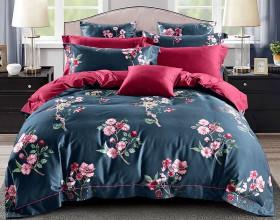 Комплект постельного белья 1,5-спальный, Египетский хлопок 1373-4S
