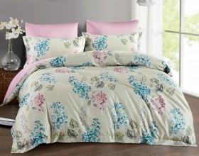 Комплект постельного белья 1,5-спальный, Египетский хлопок 1381-4S