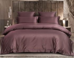 Комплект постельного белья 1,5-спальный, хлопковый жаккард 1386-4S