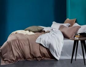 Комплект постельного белья 1,5-спальный, тенсел 1391-4S