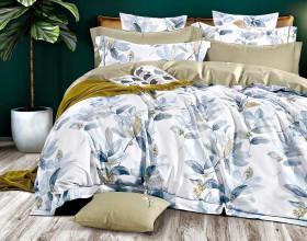 Комплект постельного белья 1,5-спальный, печатный сатин 1400-4S