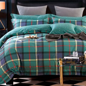 Комплект постельного белья Семейный, печатный сатин 1402-7