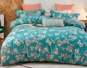 Комплект постельного белья 1,5-спальный, фланель 1414-4S
