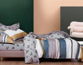 Комплект постельного белья 1,5-спальный, фланель 1427-4S