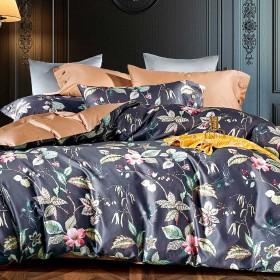 Комплект постельного белья Семейный, египетский хлопок 1435-7