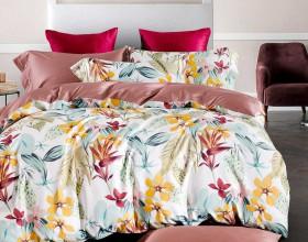Комплект постельного белья 1,5-спальный, Египетский хлопок 1437-4S