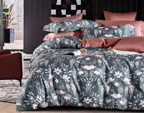Комплект постельного белья 1,5-спальный, Египетский хлопок 1441-4S