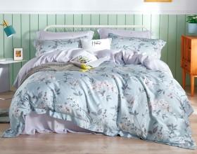Комплект постельного белья 1,5-спальный, тенсел 1445-4S